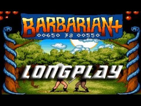 Longplay #171 Barbarian + (Commodore Amiga)
