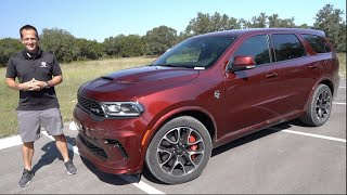 Is the NEW 2021 Dodge Durango Hellcat a muscle car SUV worth the PRICE?