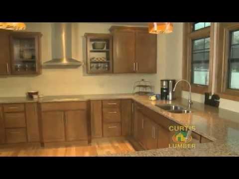Curtis Lumber Kitchen Cabinet Designer Kathy Witkowski: Traditional Kitchen in Lake George