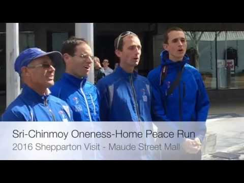 The Sri Chinmoy Oneness-Home Peace Run - Greater Shepparton