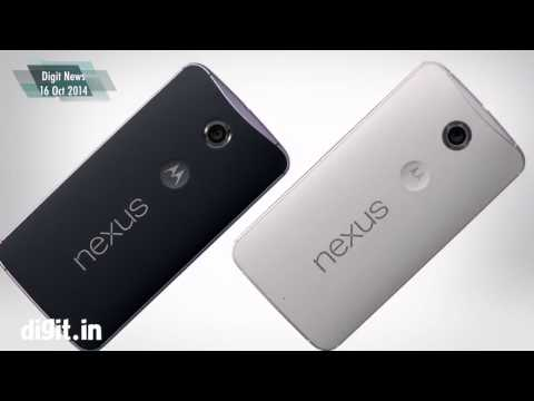 Google Nexus 6 and Nexus 9 announced NEWS 16 Oct 2014