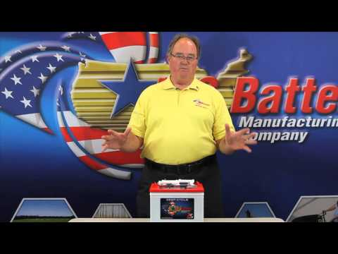 U.S. Battery Tech-Tips - Watering deep cycle batteries