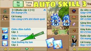 Nh0csc1 || Kinh nghiệm mở skill 3 đệ tử 99% né skill kaioken | NRO