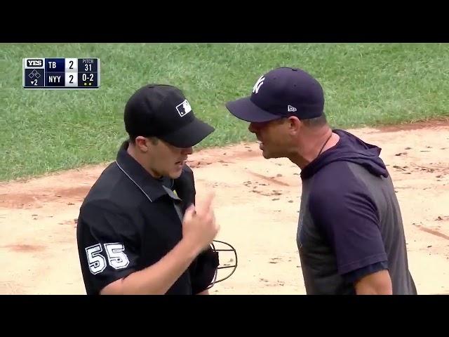 MLB/洋基總仔飆罵主審遭驅逐 球員拍手助陣