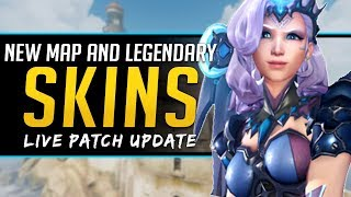 Overwatch NEW Map and Legendary Skins now Available - Live Patch Update