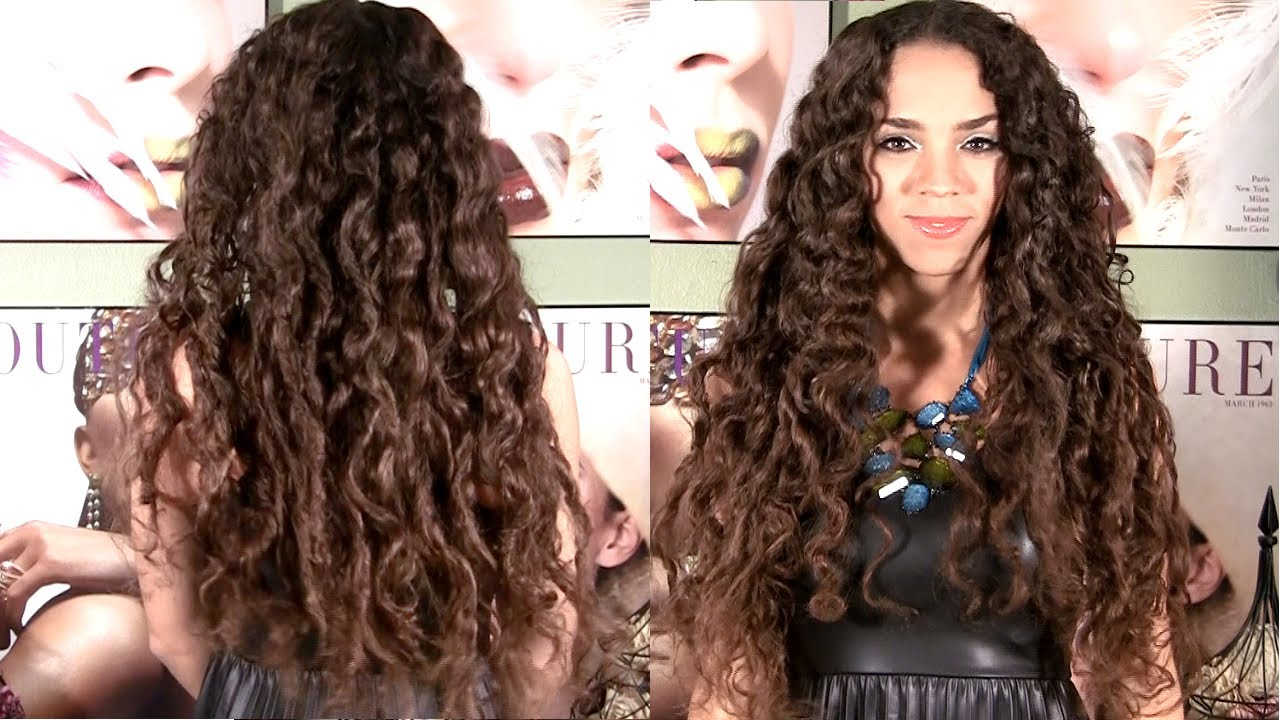 Curls Without Heat Hair Tutorial