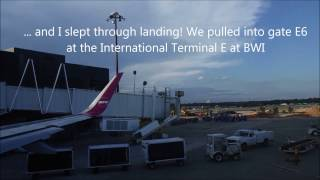 WOW AIRLINES TRIP REPORT: KEF-BWI AIRBUS A321