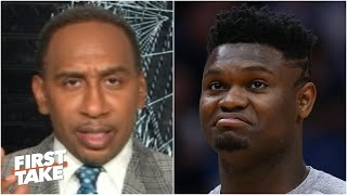 Stephen A. thinks the Pelicans are pampering Zion Williamson | First Take