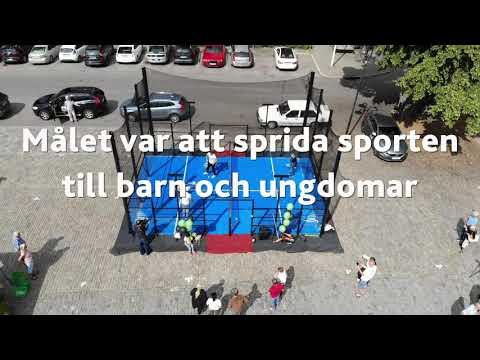 padel på torget i västerås - unisport