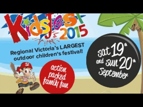 KidsFest 2015 at Kidstown - Greater Shepparton