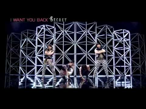 시크릿 (Secret) - I Want You Back M/V