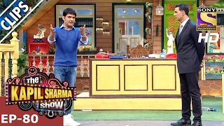 Akshay Kumar praises Kapils body fitness – The Kapil Sharma Show - 5th Feb 2017