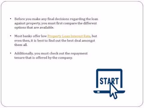 Easy Ways to Get Loans against Property