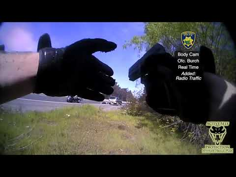 California Officer Returns Fire On The Highway After Vehicle Chase