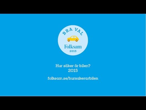 Folksam presskonferens: Hur säker är bilen 2015?