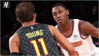 Atlanta Hawks vs New York Knicks - Full Game Highlights   October 16, 2019 NBA Preseason