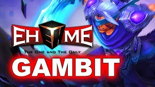 GAMBIT vs EHOME - AMAZING SEMI-FINAL - BUCHAREST MINOR DOTA 2