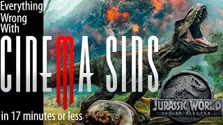 Everything Wrong With CinemaSins: Jurassic World Fallen Kingdom Copyright Edition