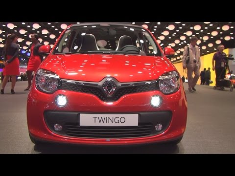 Renault Twingo Intens TCe 90 EDC (2017) Exterior and Interior in 3D