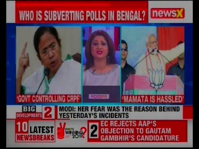 Narendra Modi vs Mamata Banerjee: Who is subverting polls in West Bengal? Elections 2019