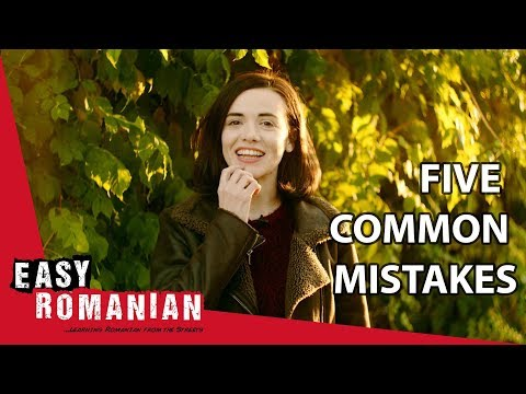 5 common mistakes Romanian learners make | Super Easy Romanian 1 photo