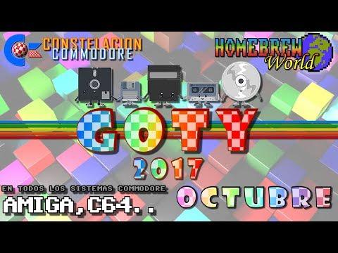 GOTY 2017 CC Octubre Juegos Amiga, C64, Plus4, VIC20.. | Homebrew World #0014