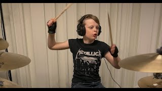 Watch 10 Year Old Drummer Cover Metallica's Entire Discography in 12 Minutes
