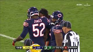Collision Green Bay Packers vs Chicago Bears