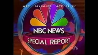 NBC News Special Report Open | 9.11.2001: 11:00PM EDT