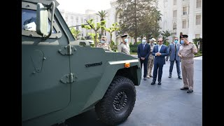 الرئيس-السيسي-يتفقد-عدد-من-المركبات-المدرعة-المطورة-من-قبل-القوات-المسلحة