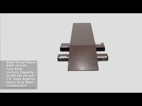 Steel Wheel Risers SWR-18-6-84