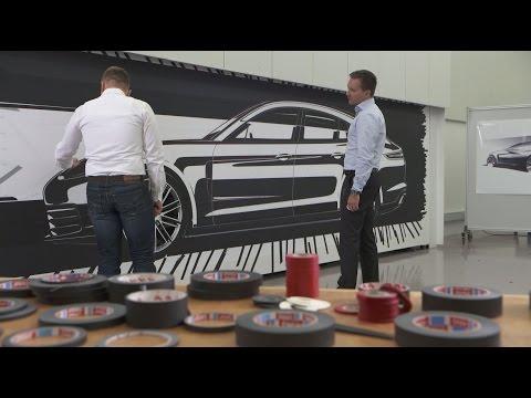 Designing the new Porsche Panamera.