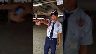bảo vệ chửi công nhân taekwang