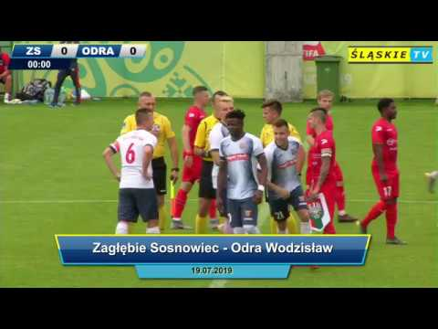 Zagłębie Sosnowiec - Odra Wodzisław 2:1