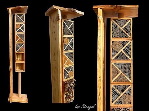 sinvolle insektennisthilfen. Black Bedroom Furniture Sets. Home Design Ideas