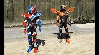 GTA 5 - Kamen rider Build truy lùng tổ chức FAUST | GHTG