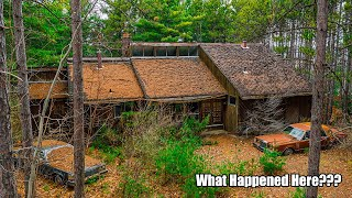 Retro Time Capsule Home Forgotten Deep In the Woods! Abandoned for 19 Years! (FHO EP.81)