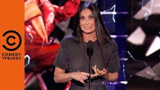 Demi Moore Surprises Her Ex | Roast of Bruce Willis