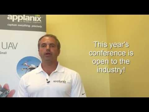 Applanix Airborne User Group Meeting and Conference Invite from Sales Director Eric Liberty