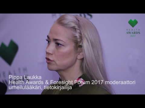 Health Awards 2017 -haastattelu: Pippa Laukka