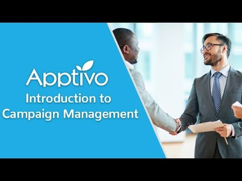 Campaign Management With Apptivo