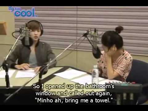 [Eng Sub] Onew saw a ghost in SHINee Dorm that look like Minho+Taemin Bonus