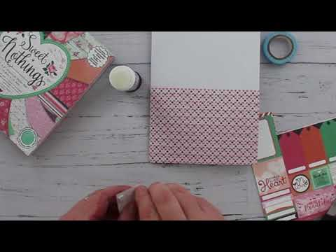 Heart Valentines Card Tutorial - The Works