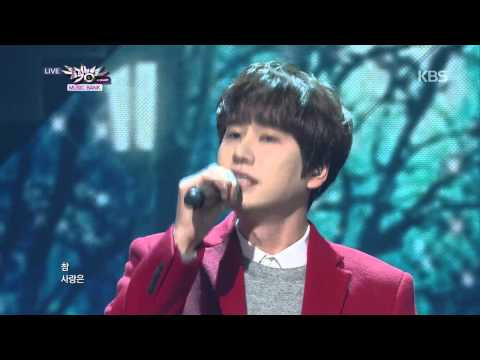 [HIT] 뮤직뱅크-규현(KYUHYUN) - 뒷모습이 참 예뻤구나(At Close).20141212
