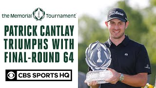 Patrick Cantlay triumphs with final-round 64   The Memorial Tournament   CBS Sports HQ