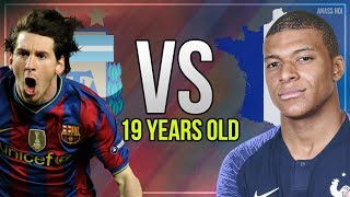 19yo Leo Messi VS 19yo Kylian Mbappe ● Who's Better !?