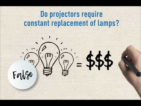 Debunking the myths about home projectors