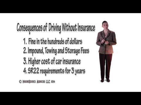 The Consequences of Driving Without Insurance in Oregon