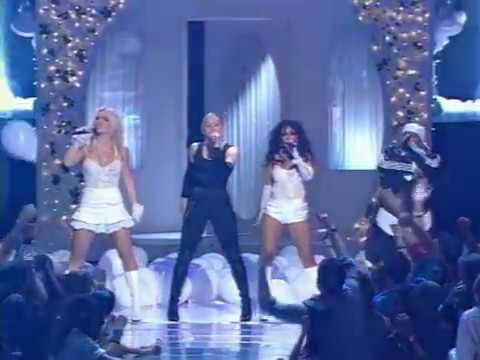 Britney Spears, Christina Aguilera, Madonna & Missy Elliott   Like A Virgin & Hollywood Live At MTV