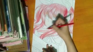 Speed Drawing : Stella Vermillion ( Rakudai Kishi No Cavalry )